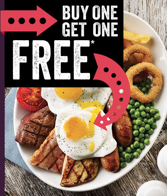 BUY ONE GET ONE FREE*